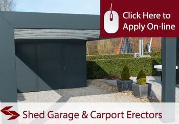 tradesman insurance for domestic shed garage and carport erectors