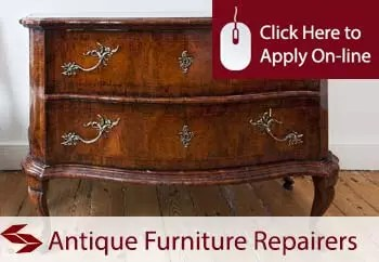 antique furniture repairers insurance