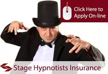 self employed stage hypnotists liability insurance
