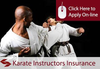 self employed Karate instructors liability insurance