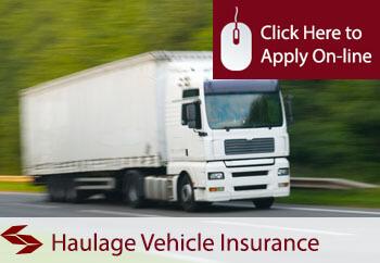 haulage vehicle insurance