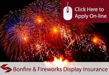 bonfire and fireworks display insurance