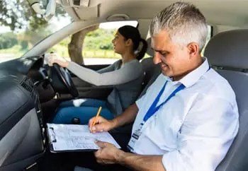 driving lessons on the motorway