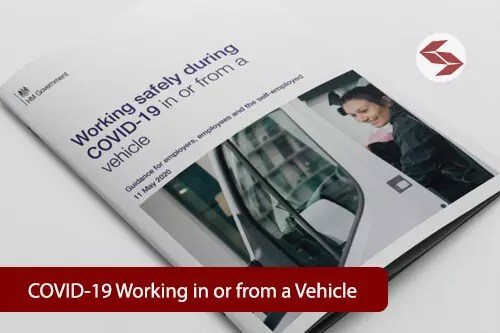 covid19 working or from a vehicle