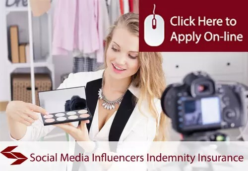 social media influencers indemnity insurance