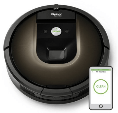 iRobot Roomba 980 Robotic Vacuum Cleaner on Cyber Monday Sale for $764