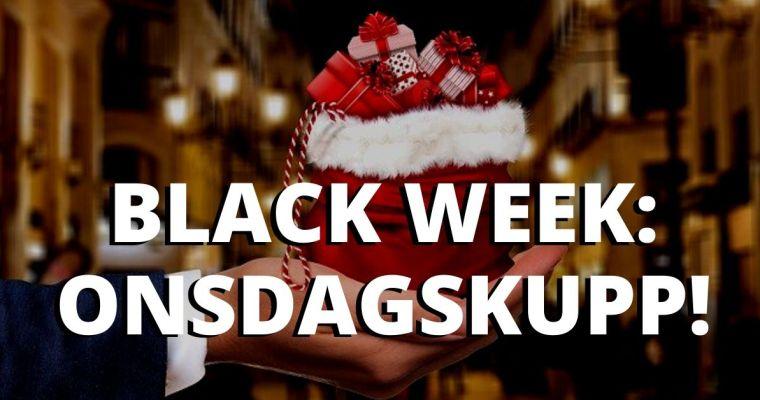 Black Week: Onsdagskupp! – Våre utvalgte tilbud, onsdag 27.11.2019