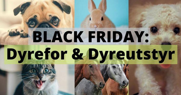 Black Friday tilbud på dyremat og dyreutstyr | Hund | Katt | Hest mm | 2019
