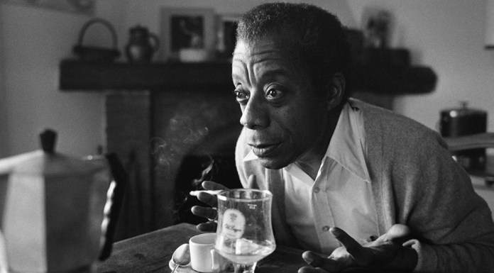 James Baldwin at home in Saint Paul de Vence, southern France, November 6, 1979.