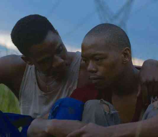 Scene from Inxeba (The Wound) starring Nakhane Touré