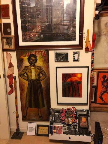 Orange ORIGINS from the Patric McCoy art collection
