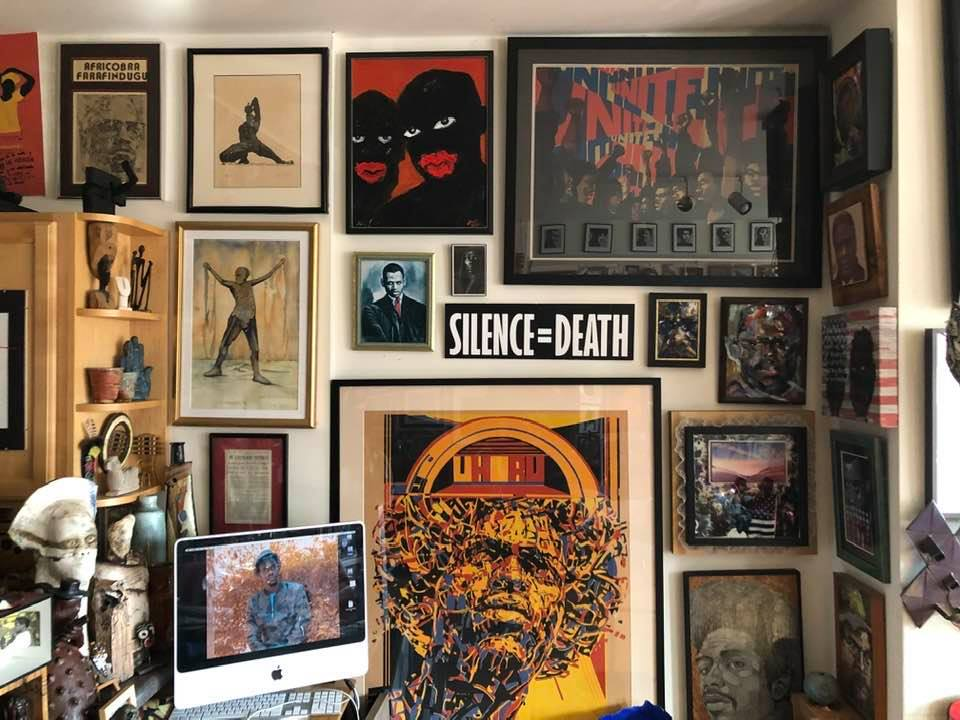 SILENCE=DEATH from the Patric McCoy art collection