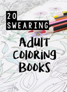 I thought we'd try something different this Monday: a round up of 20 swearing coloring books. We're swearing anyway, we may as well enjoy it and make something pretty.