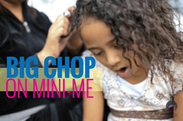 Big Chop On Mini Me BlackHairKitchen
