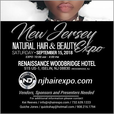 New Jersey Natural Hair And Beauty Expo Sep 15 2018