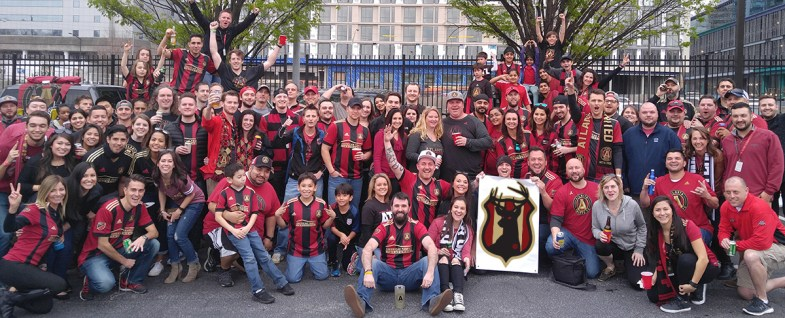 Black Harts Atlanta, Supporting Atlanta United FC with tailgates, pre and post game parties, cooking out, grill, beer, and family friendly fun.