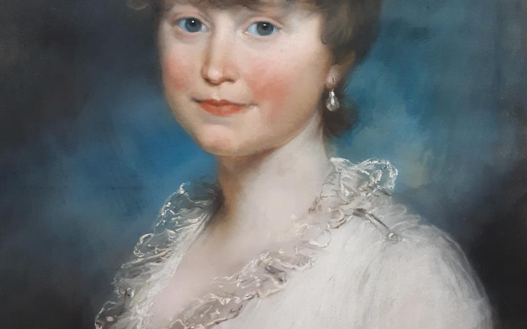 Gorgeous Girl – a story about a 19th century pastel portrait