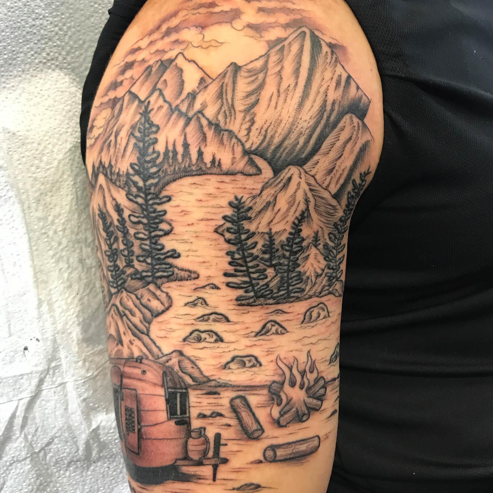 Cody-Miller-black-heart-tattoo-6