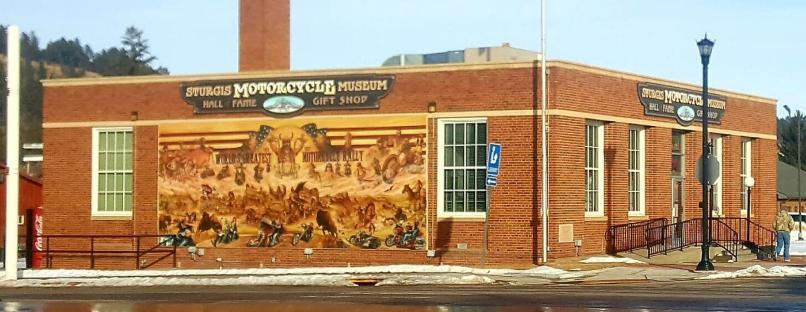 Sturgis Motorcycle Museum Hall Of