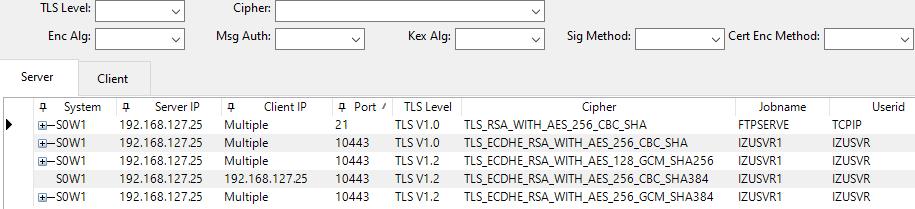 Example of an EasySMF zERT report