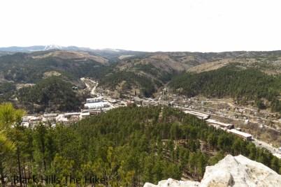 View of Deadwood from White Rocks (White Rocks)