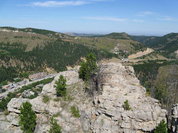 White Rocks Deadwood, SD (White Rocks)