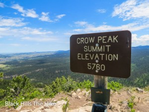 Crow Peak in Spearfish, SD