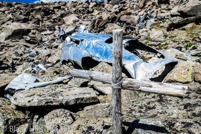 Bomber Mountain Wreckage (Backpacking In the Bighorns – Hiking Bomber Mountain)