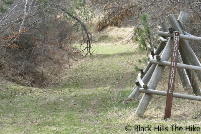 Dugout Gulch South Route (Dugout Gulch Botanical Trail #77)