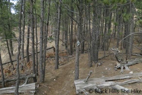 Dugout Gulch Trail Marker