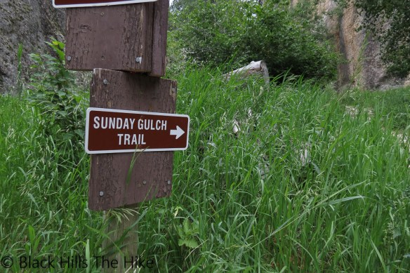 Sunday Gulch Trailhead