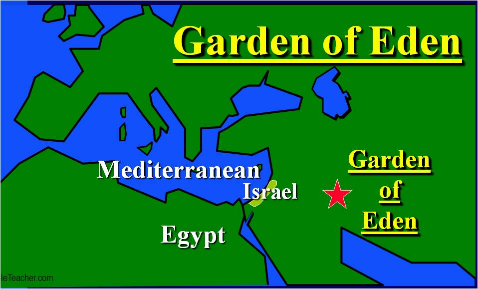Image result for where was the garden of eden
