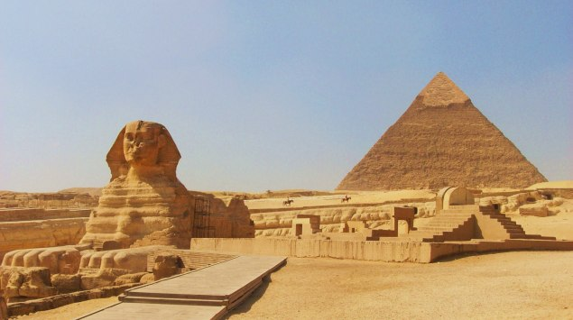 Great Pyramid and Sphinx of Giza