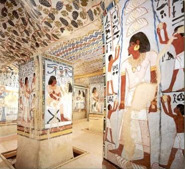 Egyptian Tomb Art