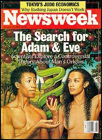 Black Adam and Eve - Newsweek