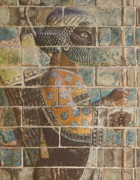 Elamite Archer on The Wall At Susa