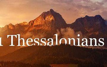 1 Thessalonians 5 (KJV)