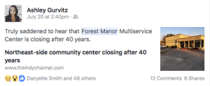 Forest Manor Closing