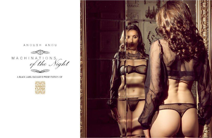 black label magazine, black label beauties Nude Art Magazine, sexy photography, nude woman, erotic, Black Label Beauties, lingerie, naked, erotic art, Anoush Anou, Maison Close