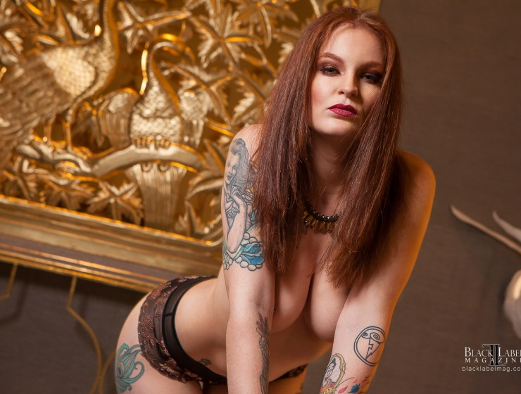 Black Label Magazine, inked girls, naked tattooed models, sexy tats, inked beauties, nude models, veruca dulce