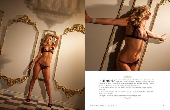 nude art magazine, Black Label Magazine, lingerie, Ajour lingerie, sexy, boudoir images