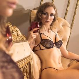 Maison Close, Lingerie, nude art, sensual art, Dane Halo, Black Label Magazine, nude art magazine