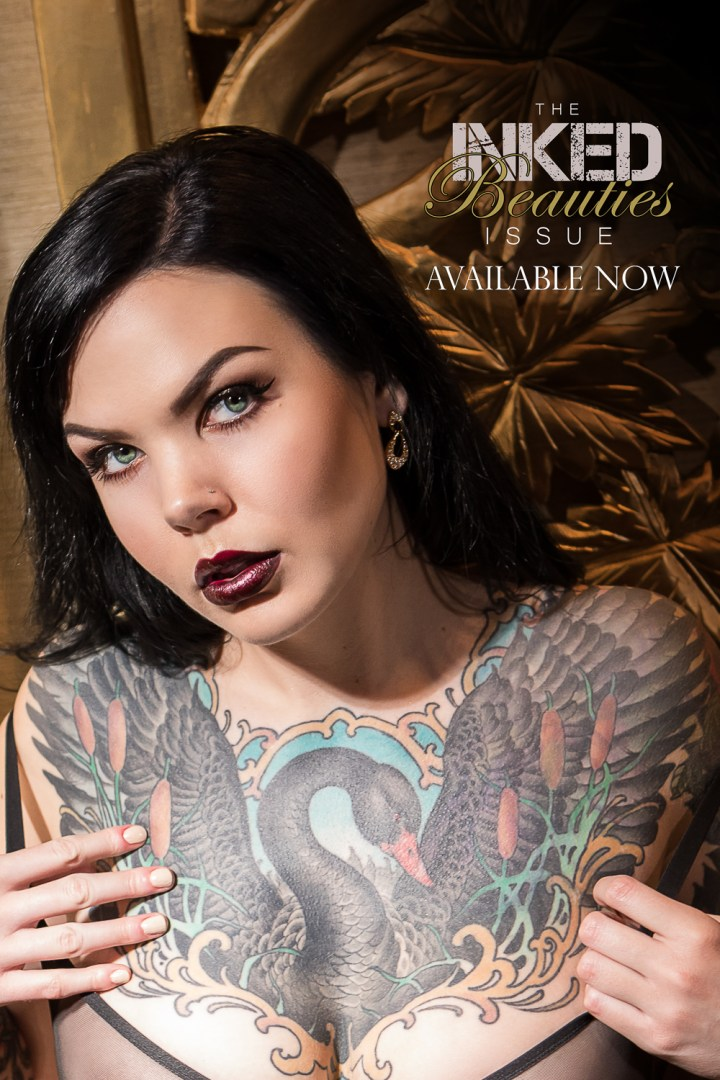 sexy, inked beauties, black label magazine, nude art, nude art photography, inked girls, inked women, tattooed women, naked girls