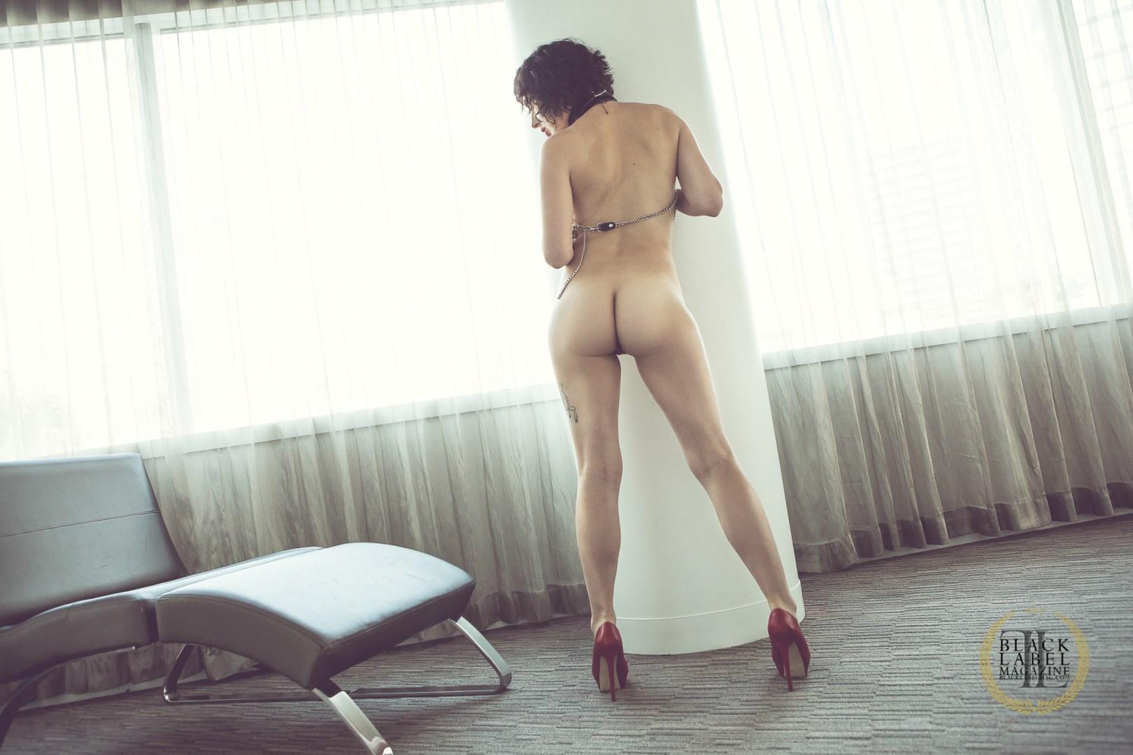 nude art, naked, Olive Glass, big tits, hairy pussy, bush, brunette