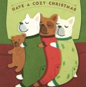 Cozy Dog Christmas