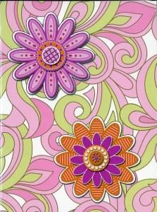 Floral Purple-Green