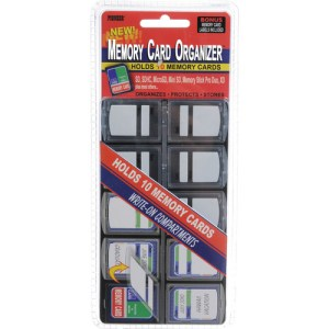 Pioneer Photo Albums MCO-10 Memory Card Organizer