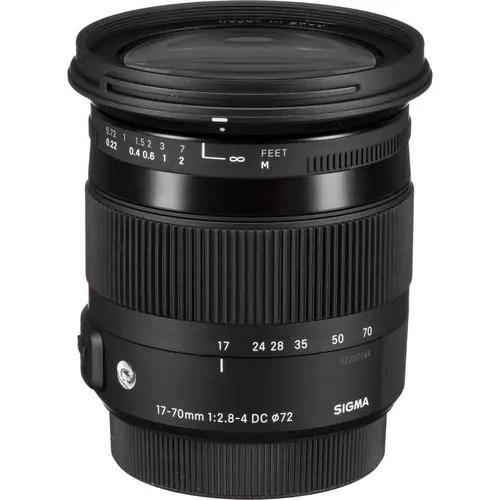 Sigma 17-70mm f/2.8-4 DC Macro OS HSM Contemporary Lens
