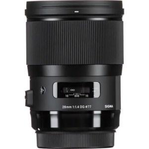 Sigma 28mm f/1.4 DG HSM Art Lens