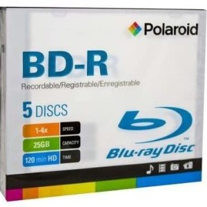 Polaroid BD-R Blu-ray Disc